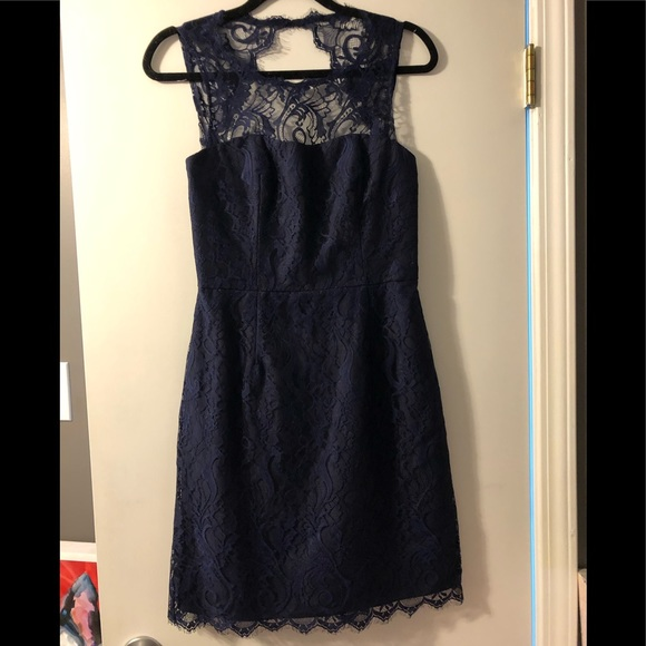 Jim Hjelm Occassions Dresses & Skirts - Bridesmaid Navy Lace Dress